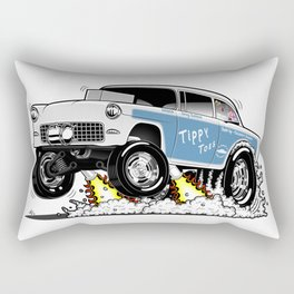 55 Classic Chevy - Tippy Toes Rectangular Pillow