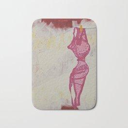 Feminism Is Hot (Deobjectified) Bath Mat