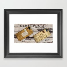 Carte Postale #2 Framed Art Print