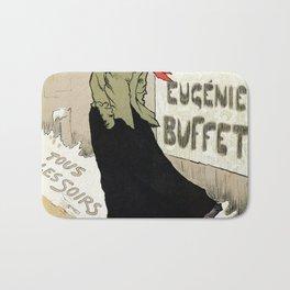 Eugénie Buffet winter Bath Mat