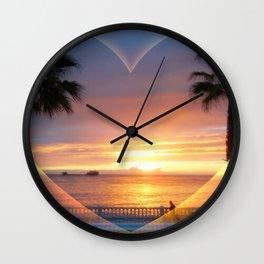 California Love - #5 Natrual Wall Clock