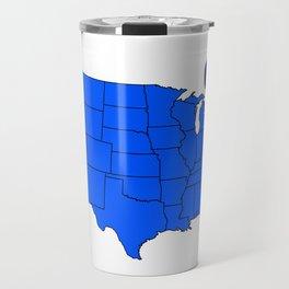 State of New York Travel Mug