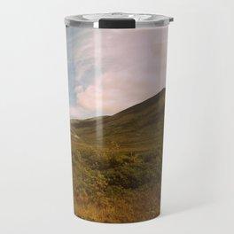 Golden hues | Cloud landscape Travel Mug