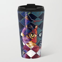 Jester The Cat II Travel Mug