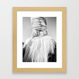 Kuker Performer Black and White Portrait Photography II Framed Art Print