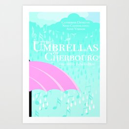The Umbrellas of Cherbourg Art Print