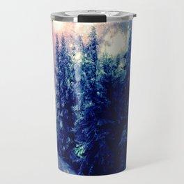 Galaxy Forest : Deep Pastels Travel Mug