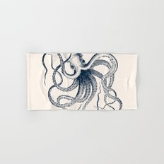Vintage Octopus Hand & Bath Towel