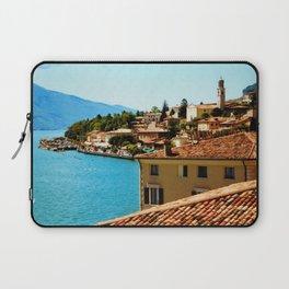 Limone Sul Garda Lake Garda Italy photo painting  Laptop Sleeve
