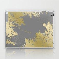Night's Sky Gold & Grey Laptop & iPad Skin