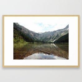 Avalanche Lake Framed Art Print