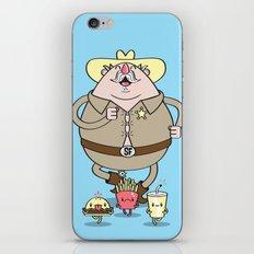 Sherif Fatman and Fast Food iPhone & iPod Skin