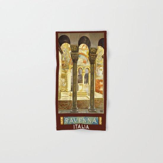 Vintage Ravenna Italy Travel Hand & Bath Towel