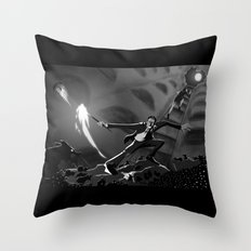 Pay The Piper Throw Pillow