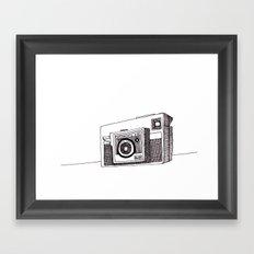 Instamatic X35 Framed Art Print