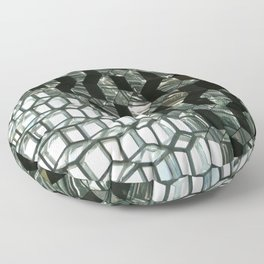 Harpa,  concert hall and conference centre Floor Pillow