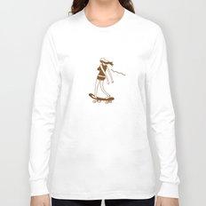 Surfin on a hot pocket Long Sleeve T-shirt