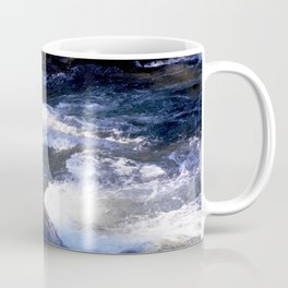 Morning Sun on the Rapids of Vallecito Creek, No. 1 of 2 Coffee Mug