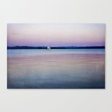 Pastel Water Canvas Print