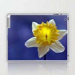 Daffodil in blue 9856 Laptop & iPad Skin