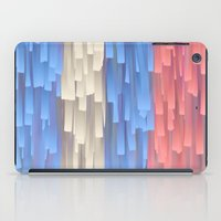 fringe iPad Cases featuring Fringe (Blue) by Jacqueline Maldonado