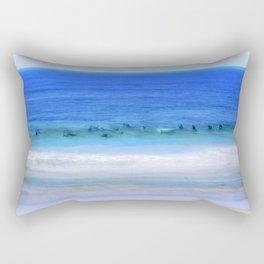 Waiting On A Wave Rectangular Pillow