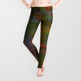 Multicolored Abstract Modern Pattern Leggings
