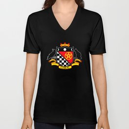 Cabot Tradition Crest (black) Unisex V-Neck
