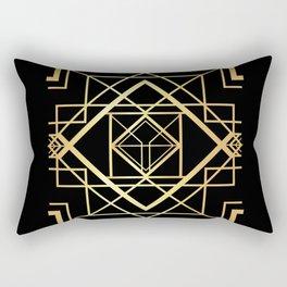1920 Art deco Gatsby Style Rectangular Pillow
