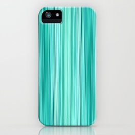 Ambient 5 in Teal iPhone Case