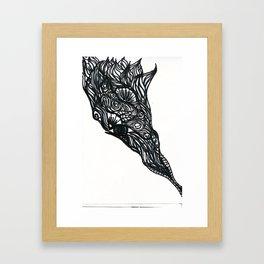 Henna Design 7 Framed Art Print