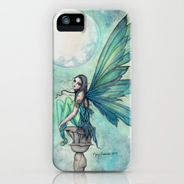 Winter Dream Fairy Fantasy Art Illustration iPhone Case