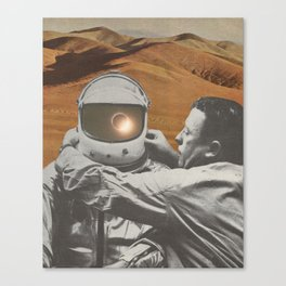 """""""The lonely"""" Canvas Print"""