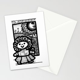 Mexican doll Stationery Cards