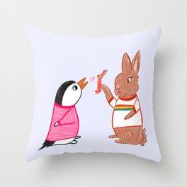 Pez Throw Pillow