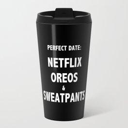Perfect Date Netflix and Chill Travel Mug
