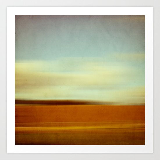 landscape abstract Art Print