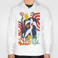 matisse Hoodies featuring Inspired to Matisse by Chicca Besso