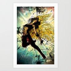 Shattered Faith Art Print
