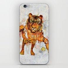 tiger splash ! iPhone & iPod Skin