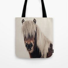 Hi, I'm a Scottish Horse Tote Bag