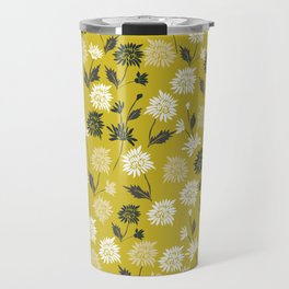 Chinoiserie pattern with flowers Travel Mug