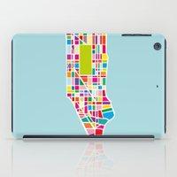 manhattan iPad Cases featuring Manhattan by Glen Gould