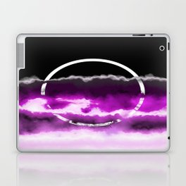 Reflections in Purple Laptop & iPad Skin