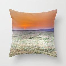 Dream fields Throw Pillow