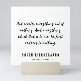 2   Søren Kierkegaard Quotes   190523 Mini Art Print