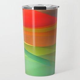 a towel full of colors -15- Travel Mug