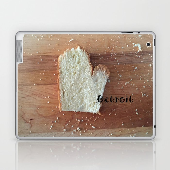 The Big D (Mitten State Series) #puremichigan Laptop & iPad Skin