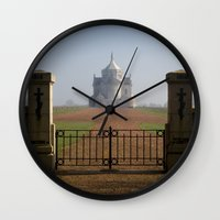 the national Wall Clocks featuring Necropole National by davehare