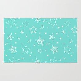 Star Doodles Rug